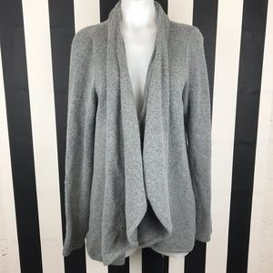 5 for $25 LOFT Gray Open Front Cardigan